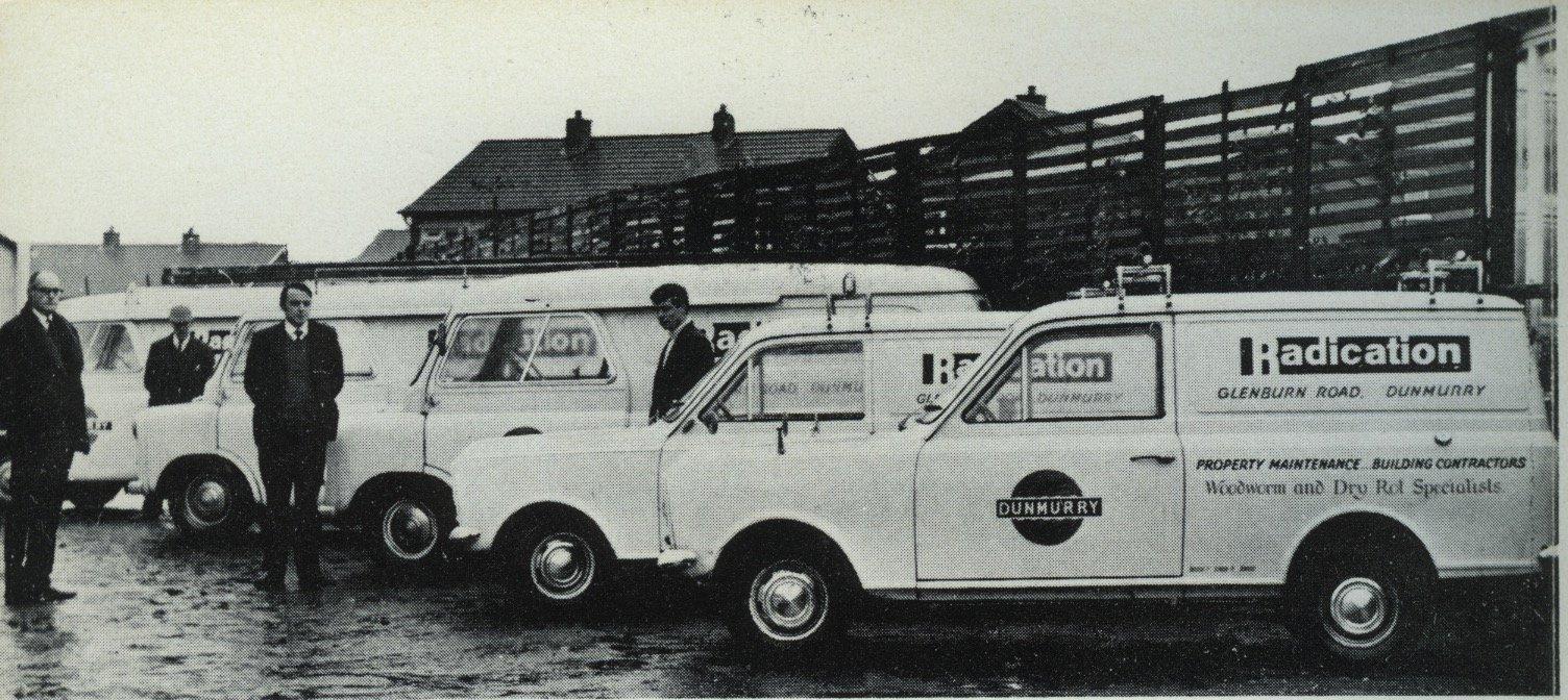 Radication Ltd black and white pic